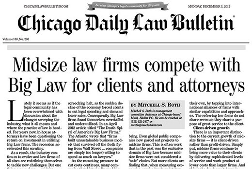 The Changing Legal Market